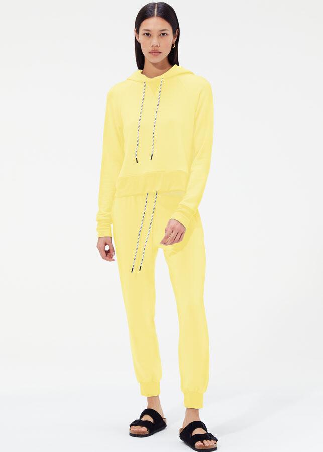 Splits59, Norma Light Fleece Sweatpants, Sunshine