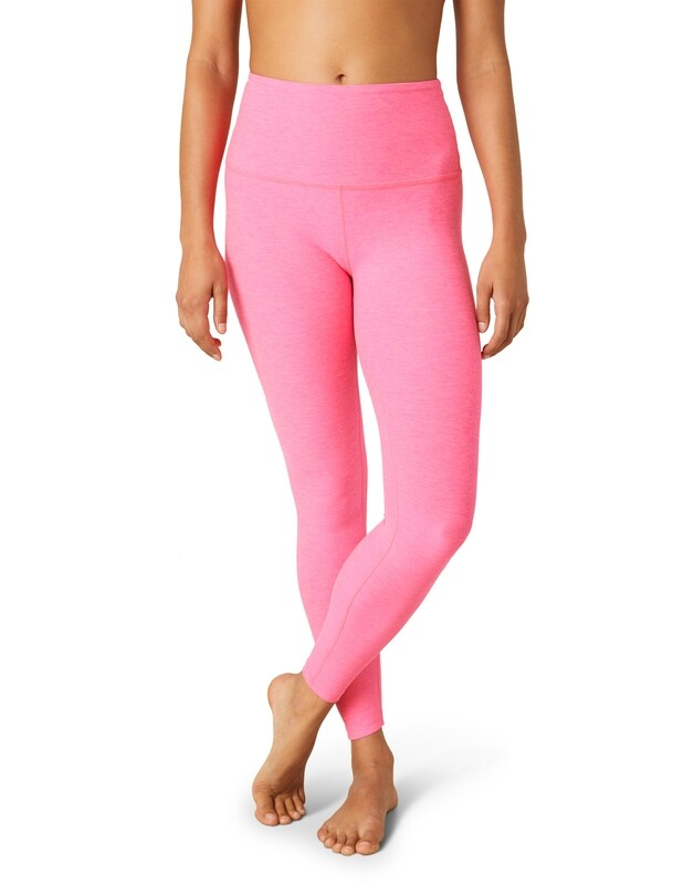 Beyond Yoga, SD3243, Midi Legging, Electric Pink