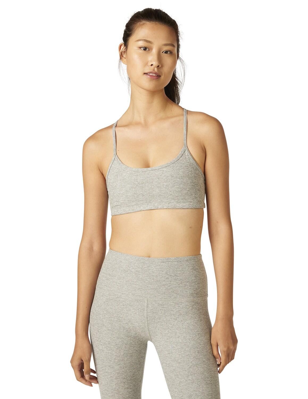 Beyond Yoga, SD8255, Slim Racerback, Silver Mist