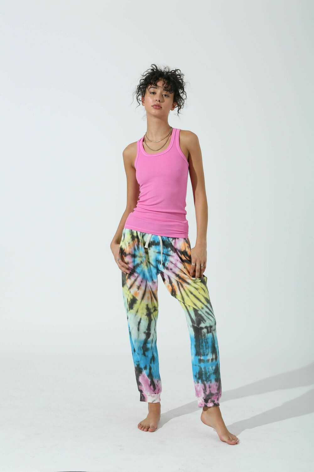 Electric and Rose, Elle Tank, Peony