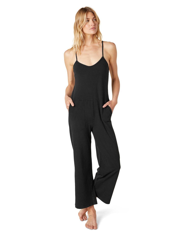 Beyond Yoga, DD6154, Breezy Jumpsuit, Washed Black