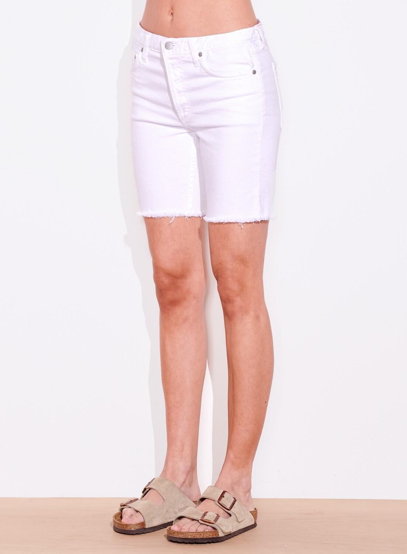 Sundry, Cut Off Shorts, White