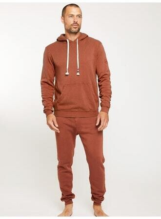 Sol Angeles, Men's Waves Pullover, Tobacco