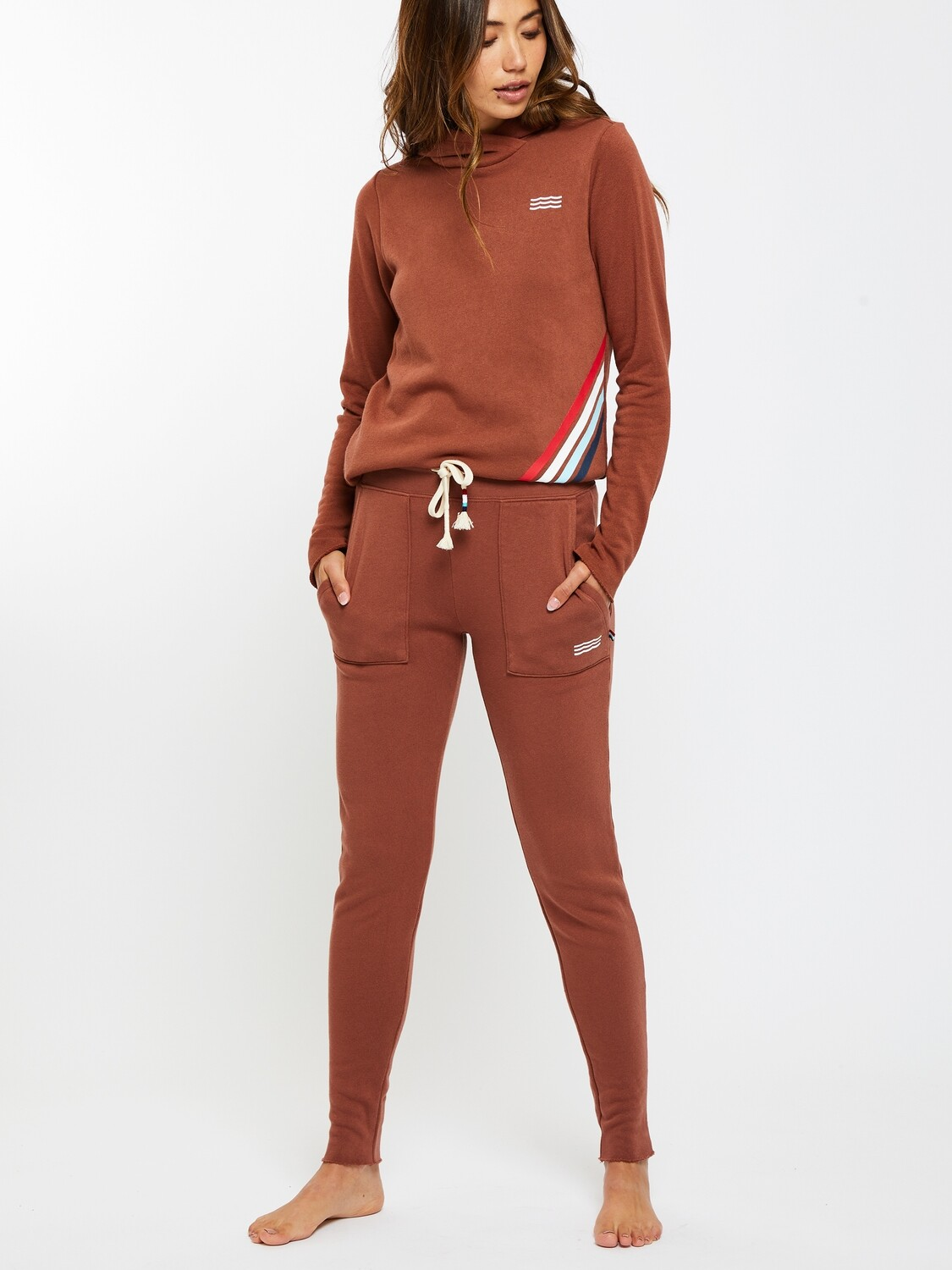 Sol Angeles, Patch Jogger, Tobacco