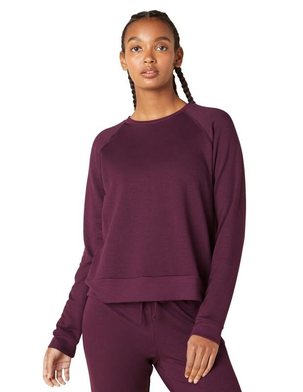 Beyond Yoga, CF7545, Raglan Pullover, Fig