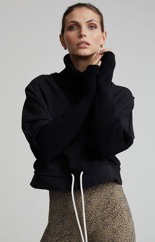 Varley, Britannia Sweater, Black