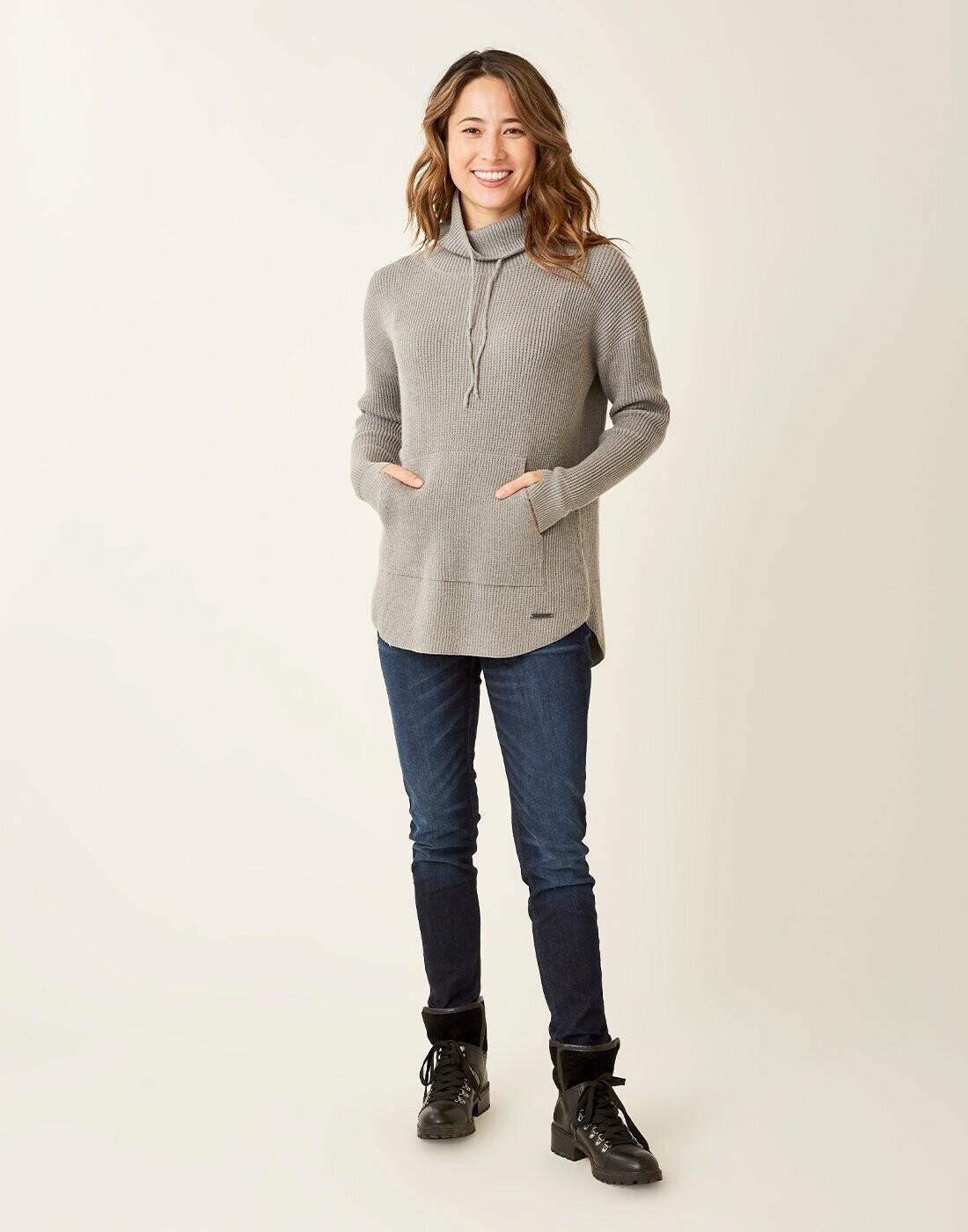Carve Designs, Rockvale Sweater, Pewter Heather