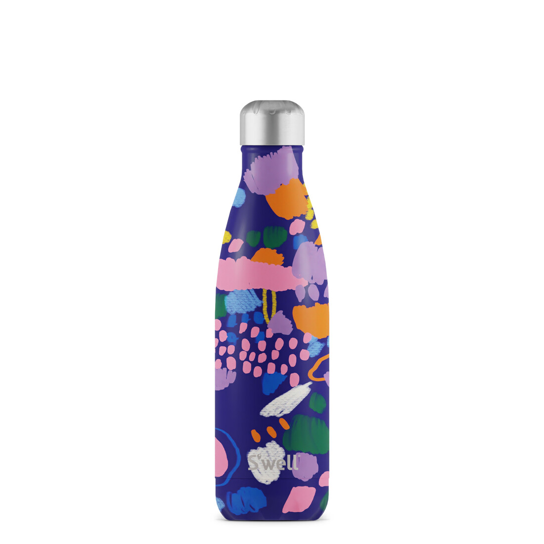 Swell, 17oz, Stainless Steel Water Bottle, Paper Posy