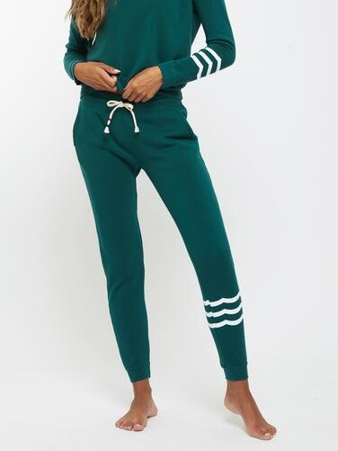 Sol Angeles, Women's Waves Jogger, Emerald