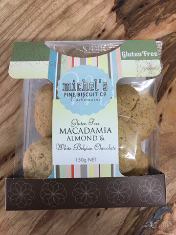 G.F. Macadamia, Almond & White Belgian Chocolate