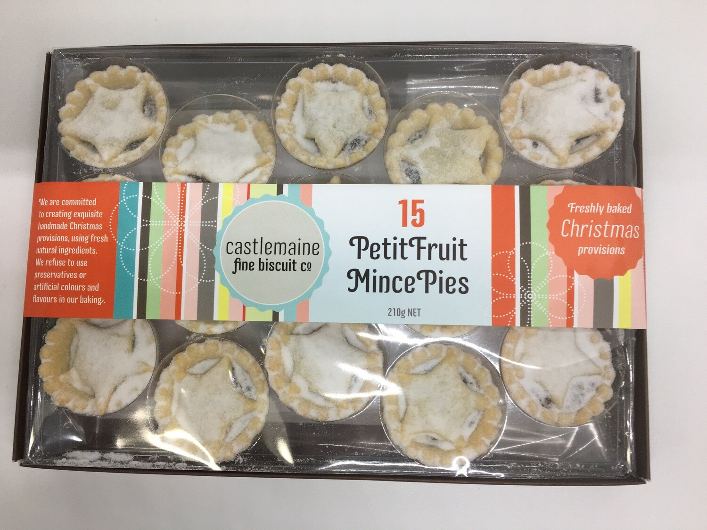 15 Petit Fruit Mince Pies