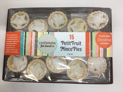 15 Petit Fruit Mince Pies