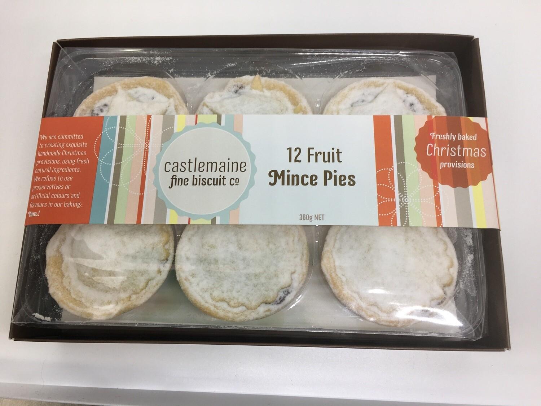 12 Fruit Mince Pies