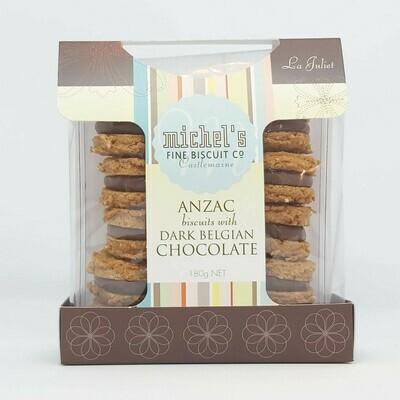 Anzac With Dark Belgian Chocolate
