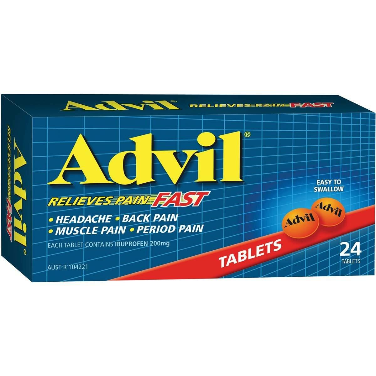 Advil Tablets 24pk