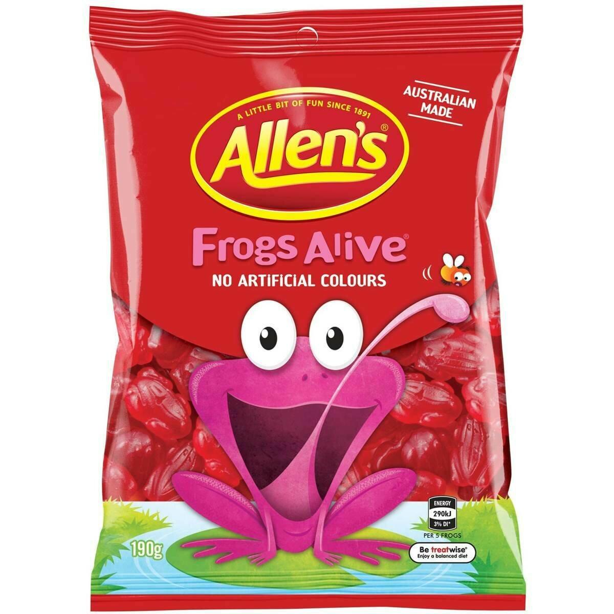 Allens Frogs Alive 190G