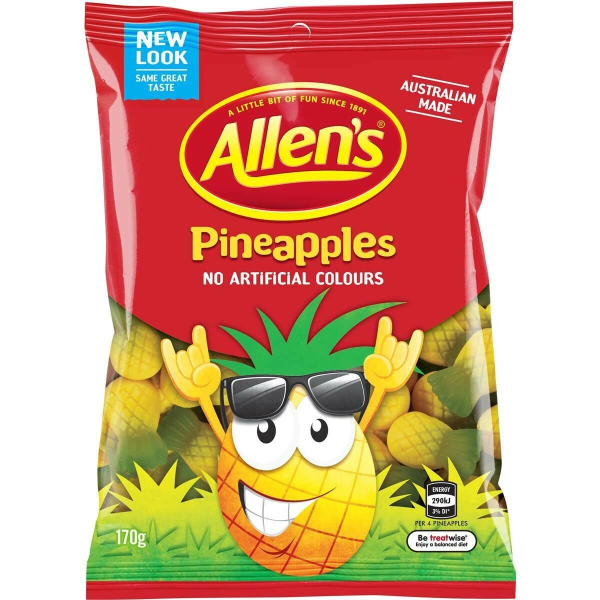 Allens Pineapples 170G