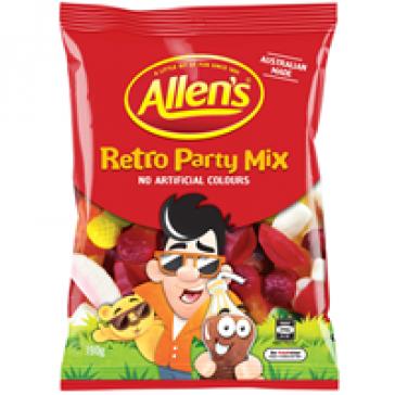 Allens Retro Party Mix 190G