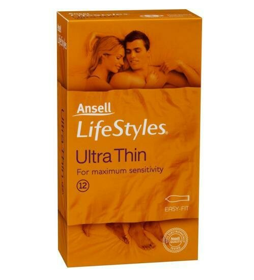 Ansel Lifestyles Ultra Thin 12pk