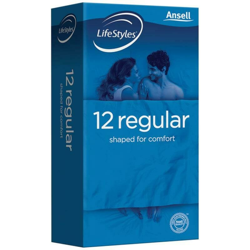 Ansell Lifestyle Regular 12PK