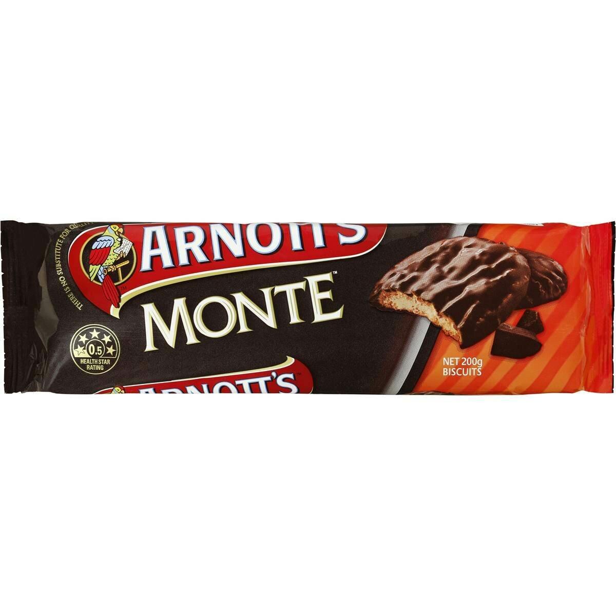 Arnotts Monte 200G
