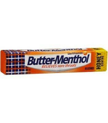 Butter Menthol 10 Lozenges