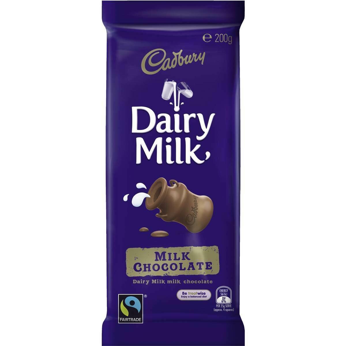 Cadbury Milk Chocolate 180G