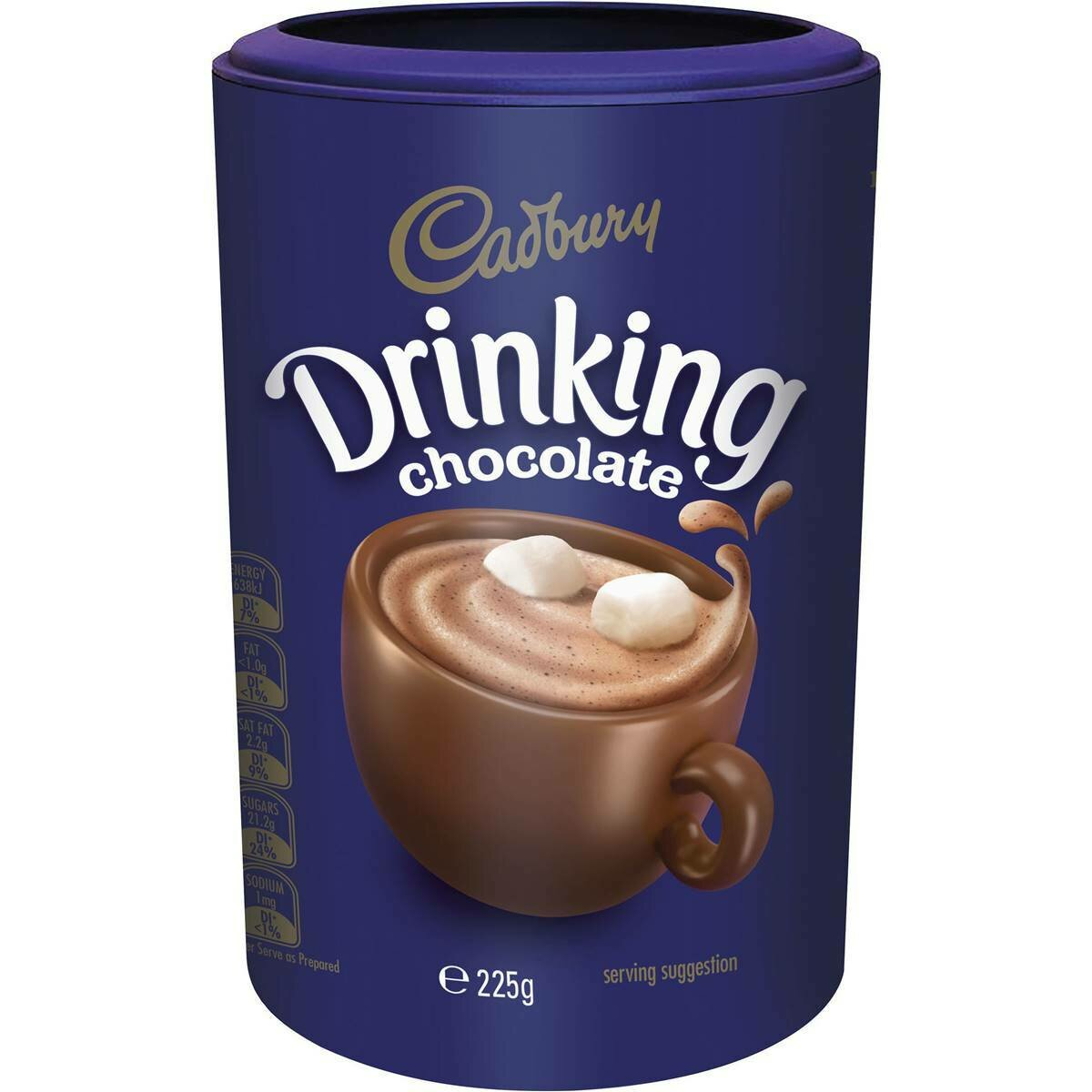 Cadbury Drinking Chocolate 225G