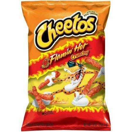 Cheetos Flamin Hot Crunchy 226g