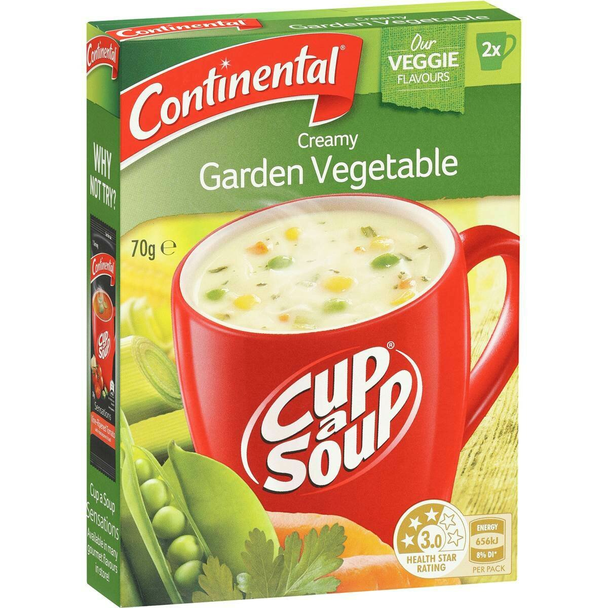 Continental Creamy Vegetable 70G