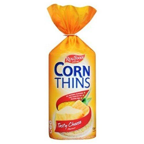 Corn Thins Tasty Cheese 125G