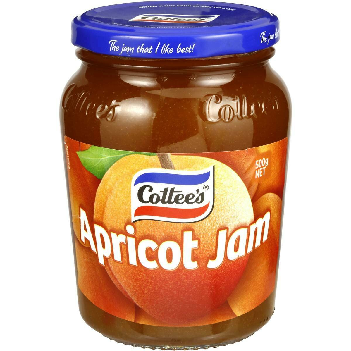 Cottees Apricot Jam 500G