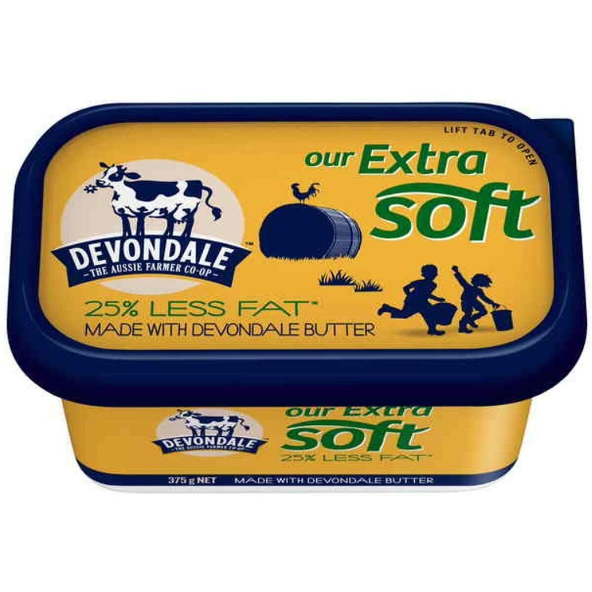 Devondale Extra Soft Butter 375G