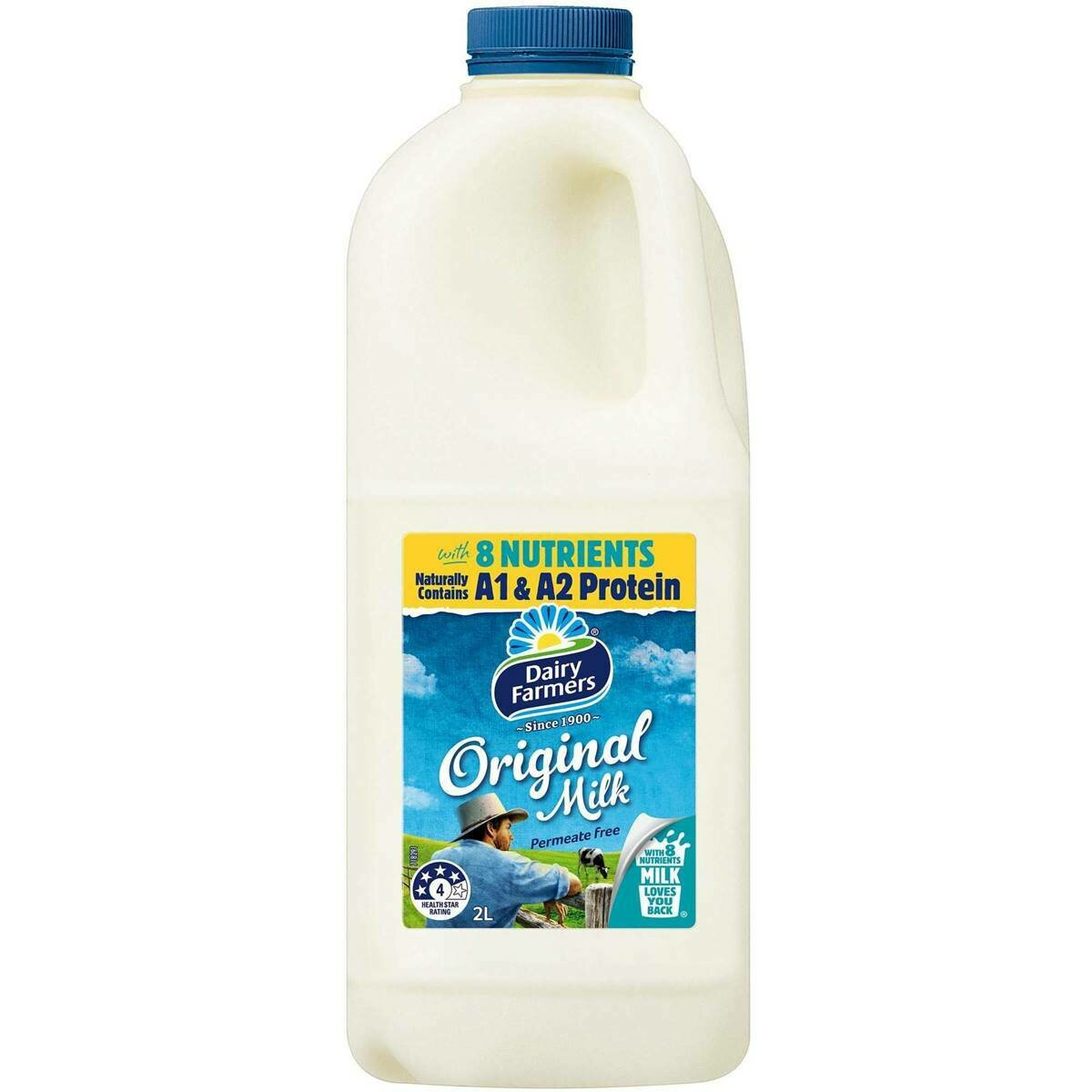 Dairy Farmers Full Cream 2L