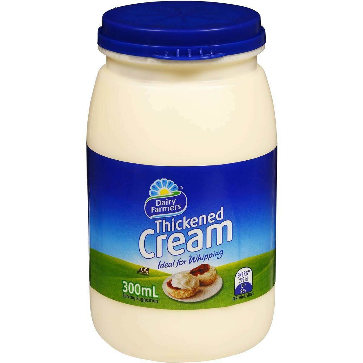 Dairy Farmers Thickened Cream 300ML