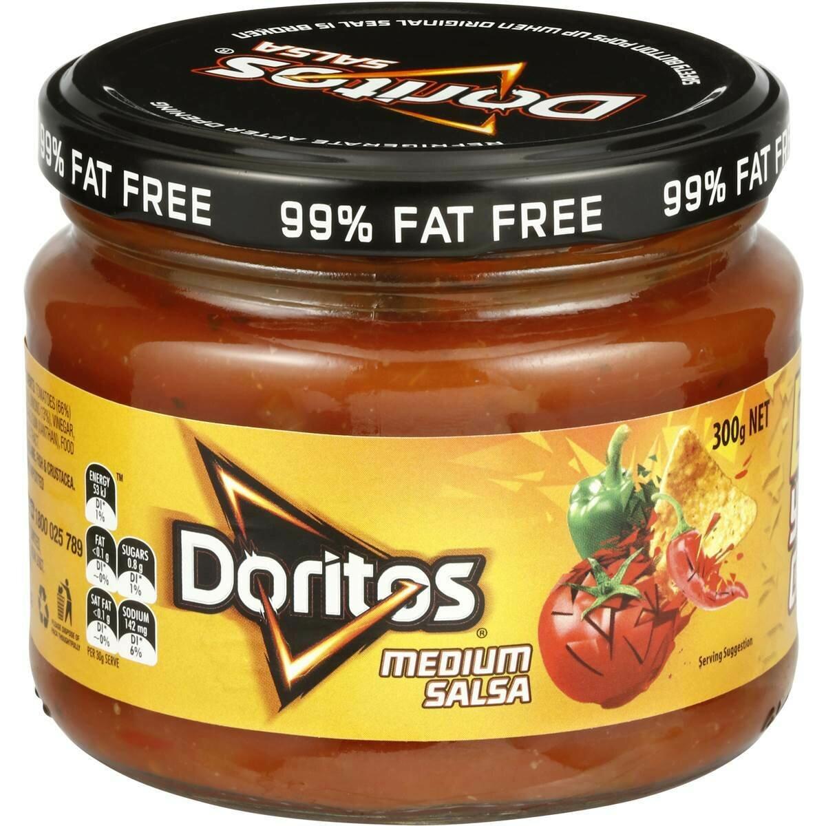 Doritos Salsa Medium 300g