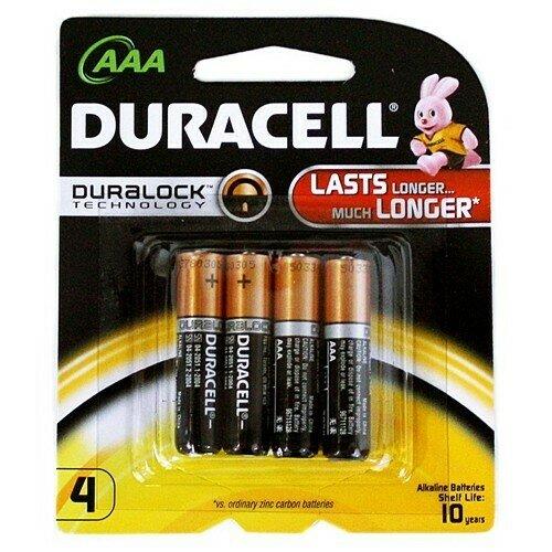 Duracell AAA4pk