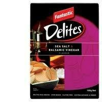 Delites Sea Salt vinegar 100g
