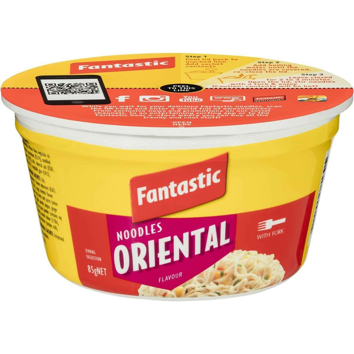 Fantastic Noodles Oriental 85G
