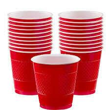 Plastic Cups big 20pk