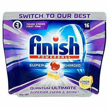 Finish Lemon Dishwasher 16 Pcs