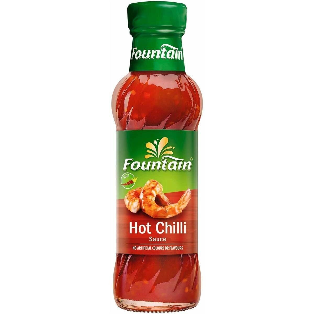 Fountain Hot Chilli Sauce 250ML