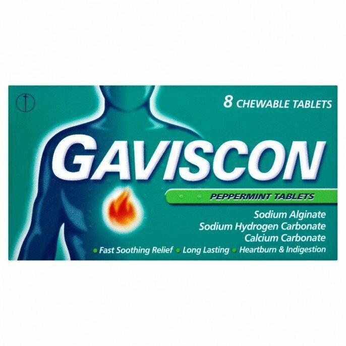 Gaviscon 8 Tablets