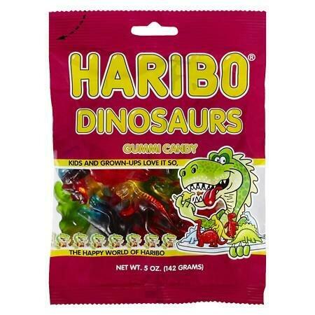 Haribo Dinosaurs 142g