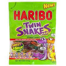 Haribo Twin Snakes 142g