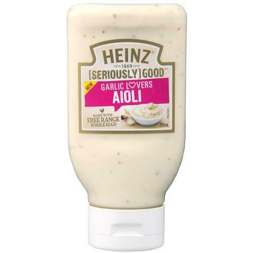 Heinz Aioli Garlic Mayo 295ML