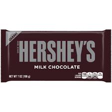 Hershey's Milk Chocolate 192G