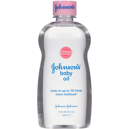 Johnson's Baby Oil Original 414ML