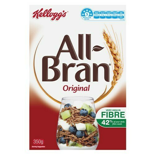 Kelloggs All Bran Original 350G