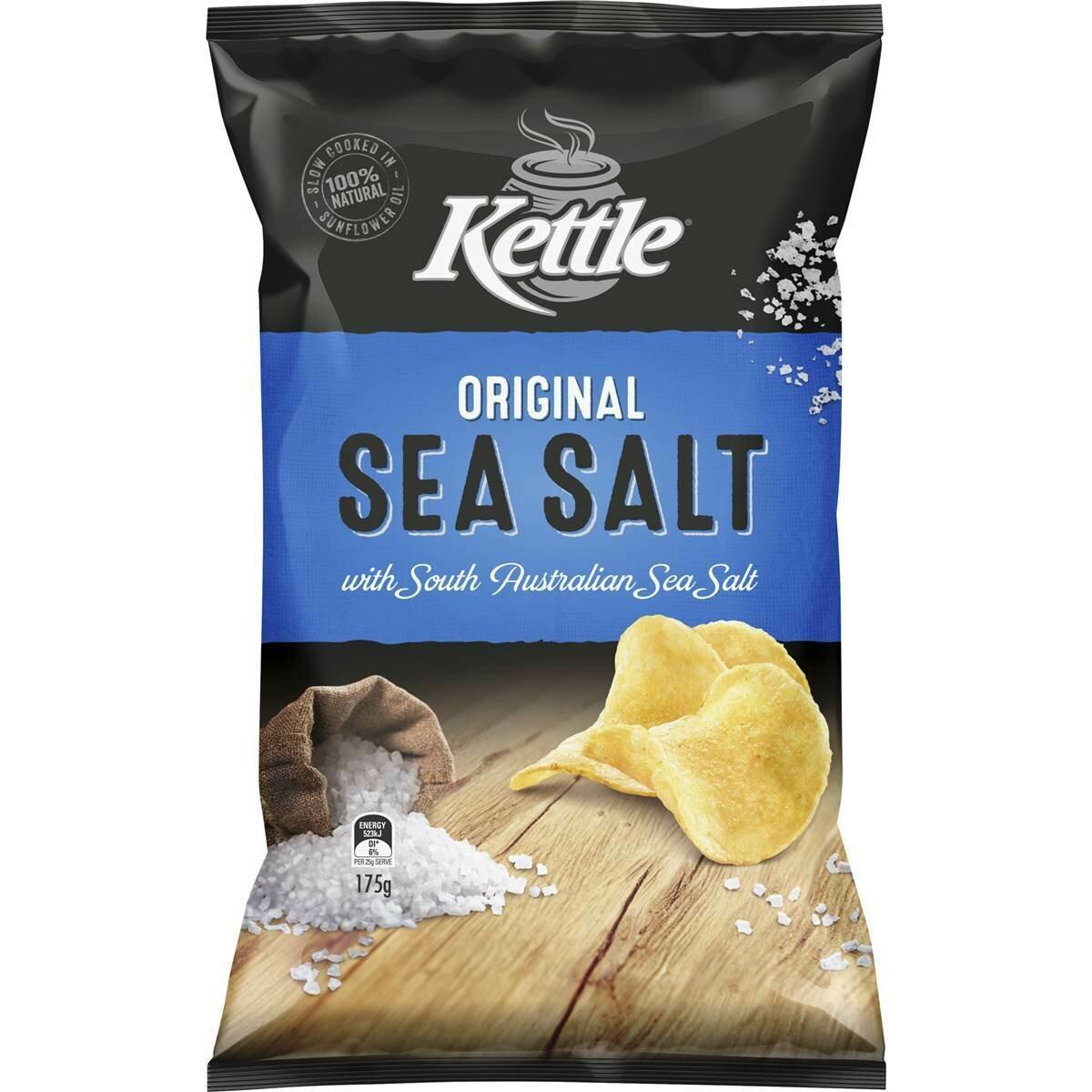 Kettle Sea Salt 175g